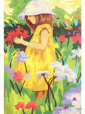 Madsbag DIY Oil Painting Kit For Kids - Girl In Garden (40*50*3 cm)