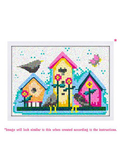 Madsbag Paint By Numbers DIY Diamond Painting Kit For Kids - House (30*40 cm)