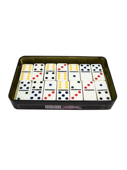 Madsbag Double Colour Dot Dominoes Board Game
