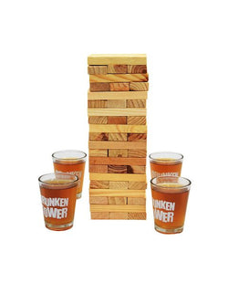 Madsbag Jenga Drunken Tower Drinking Game