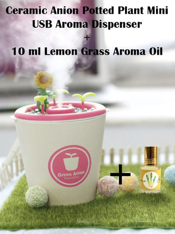 Madsbag Table Top Aroma Dispenser & Lemon Grass Fragrance