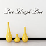 Home Garden Home Decor LIVE LAUGH LOVE Wall Art Quote Vinyl Decal Home Art Decor Paper Wall Stickers