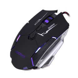 Professional 4000 DPI - 7 Buttons USB Optical Wireless Gaming Mouse
