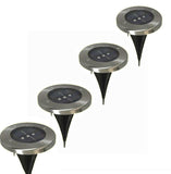 Outdoor Underground Solar 3 LED Buried Lamps LED Garden Lawn Light Set of 5 pcs