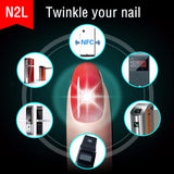 NFC Smart Wearable Gadget JAKCOM N2 Smart Nail Multifunction Product | Intelligent Accessory | No Charge Required