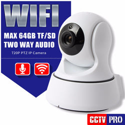Simple to Set-up DIY - HD 720  Wifi IPSecurity IR-Cut Night Vision Camera with Two Way Audio | MINI CCTV Surveillance IP Camera Wireless APP CAM360
