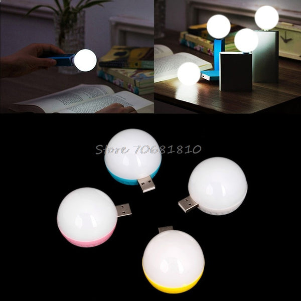 Multipurpose LED Light Bulb | USB Powered for Computer - Notebook PC - Laptop - Reading Books - Camping - Car Travel