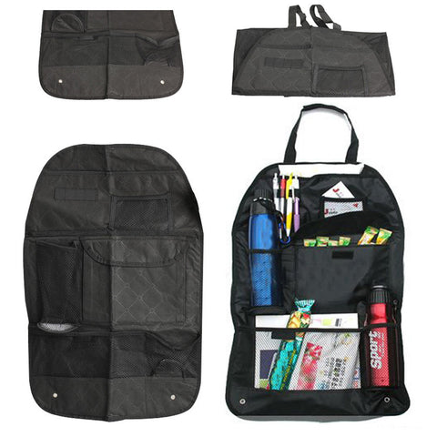 Easy To Fix - Multi-Pocket Travel Storage Hanging Bag Car Auto Seat Back Bag Organiser & Holder
