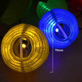 Festive Waterproof Solar LED Lantern Lamp | 20 Lantern LED Garden Ball String Multi Colour Lights