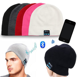 Sporty Warm Bluetooth Hat Cap Invisible Bluetooth Wireless Headset