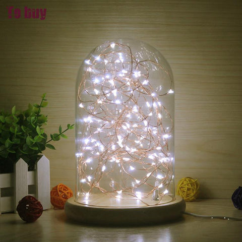 Wood Desk Lamp LED  Christmas Lights Indoor 3D Light | Height 22cm
