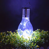 Outdoor Decorative Solar Powered Portable LED Bulb Lamp | Garden Decoration