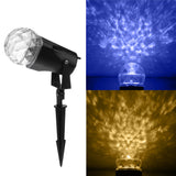 Waterproof IP44 Landscape Garden LED Flame Projection Lamp Garden Outdoor Decor Light Effect Lamp