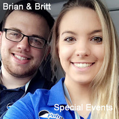 Brian and Britt Special Events