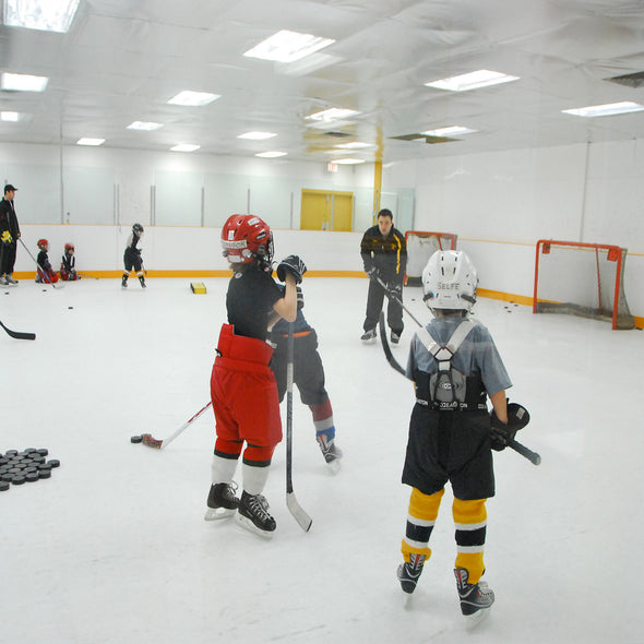 Hockey Training on PolyGlide Ice