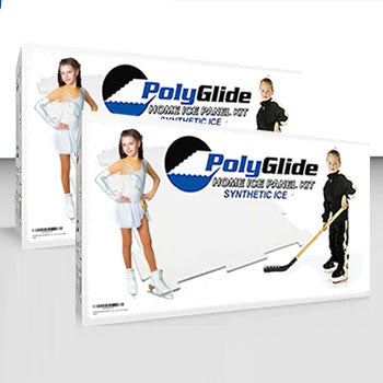 PolyGlide Synthetic Ice - Intermediate Starter Kit (8 Panels) - Double-Sided - PolyGlide Ice