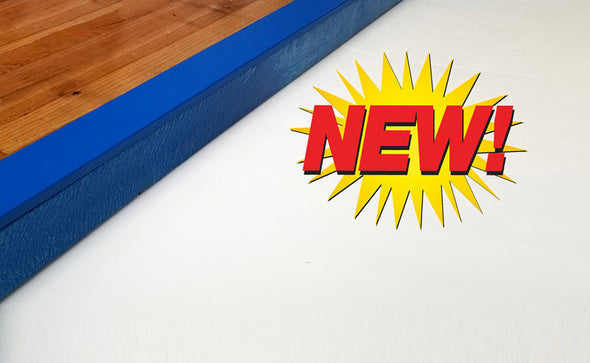 Synthetic Ice - Dasher Curb by PolyGlide Ice - PolyGlide Ice