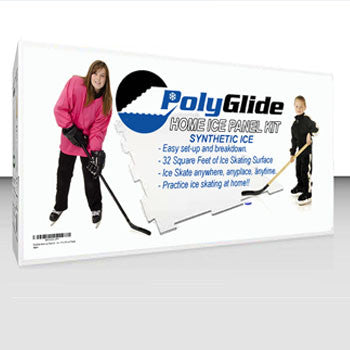 PolyGlide Synthetic Ice - Starter Kit (4 Panels) - Double-Sided - PolyGlide Ice