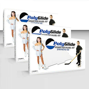 PolyGlide Synthetic Ice - Super Pack Starter Kit (12 Panels) - Double-Sided - PolyGlide Ice