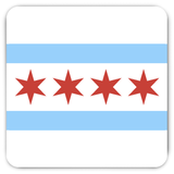 Chicago Flag Magnets