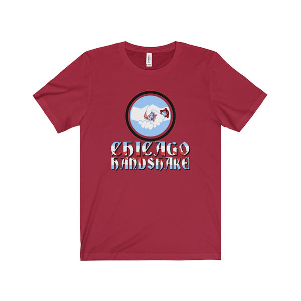 Chicago Handshake Bella and Canvas Unisex T-Shirt