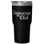 Cappuccino Club Insulated Travel Tumbler