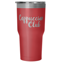 Cappuccino Club Insulated Travel Tumber