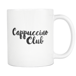 Cappuccino Club 11 Ounce Mug