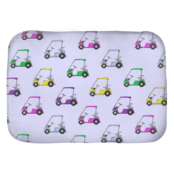 Golf Cart Patterned Seat Pad