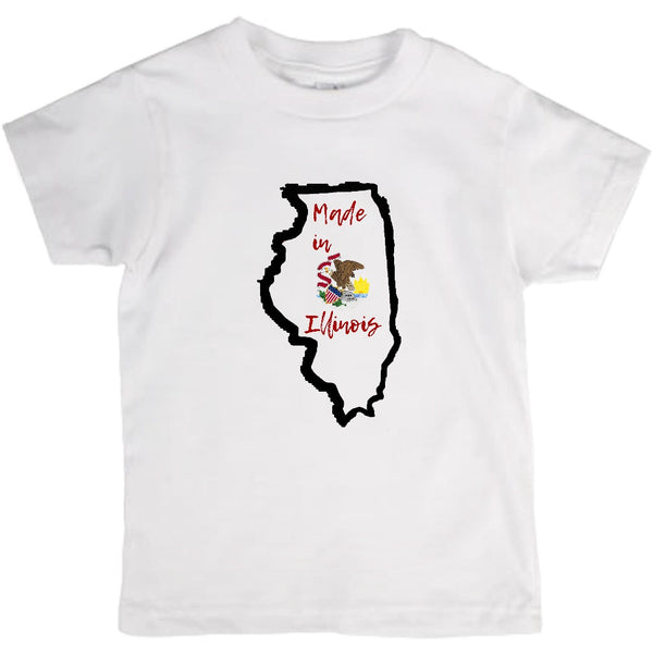 Made in Illinois Toddler T-Shirt