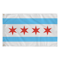 chicago flag large
