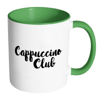 Cappuccino Club Accent Mug