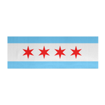 Chicago Flag Yoga Mat