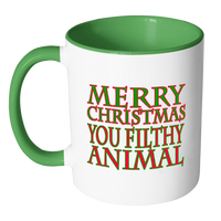 Filthy Animal Holiday Mug