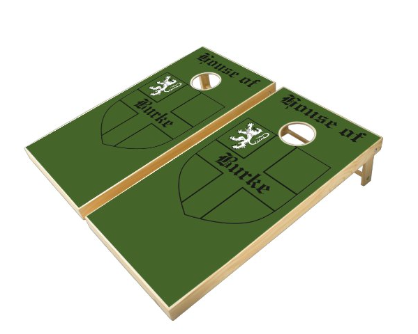 Personalized Family Crest Cornhole Boards
