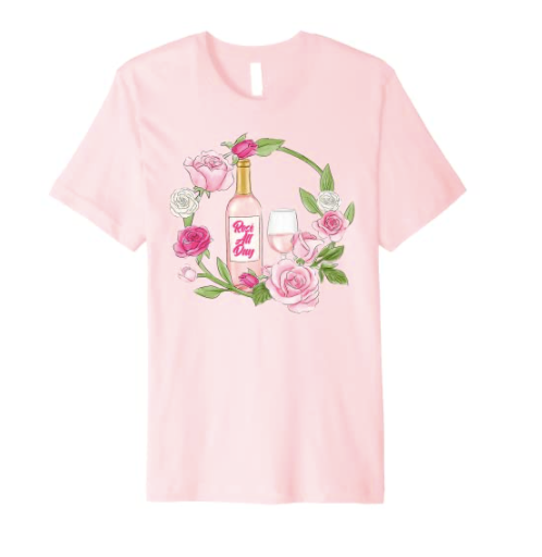 Rosé All Day Shirt