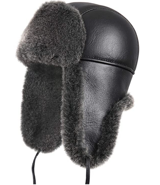 Shitter's Full Sheepskin Trapper Hat
