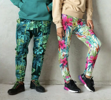 all over print sweatpants