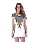 Custom All Over Print T-Shirt Dress