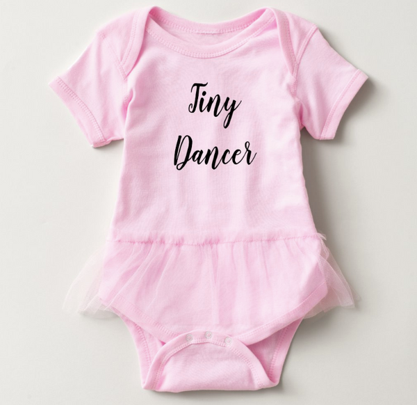 Tiny Dancer Tutu Baby Bodysuit