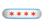 Chicago Flag Skateboard