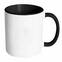 Custom 11oz Accent Coffee Mug