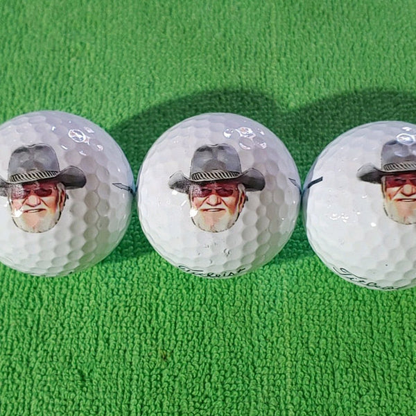 Custom Golf Balls with Cartoonized Face