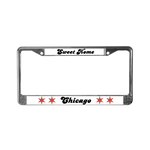 Custom License Plate Frame