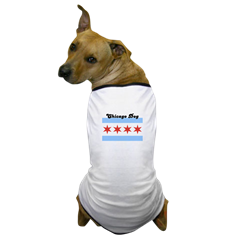 Chicago Flag Ringer T for Dogs