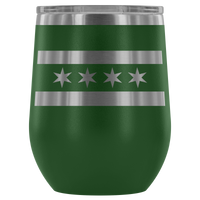 Chicago Flag Insulated Tumbler