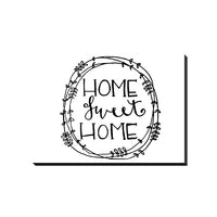 Home Sweet Home Decorative Canvas