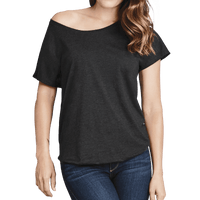 Custom Scoop Neck Dolman Tee, Next Level 6760