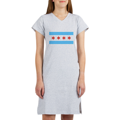 Chicago Flag Women's Night Shirt