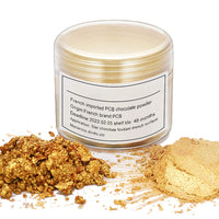 Edible Chocolate Gold Powder for Baking